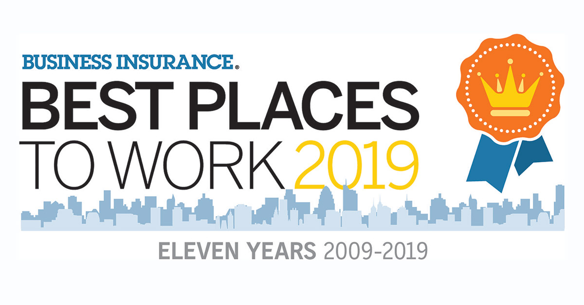 Best Place to Work in business insurance