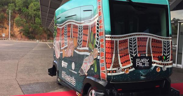 driverless shuttle buses