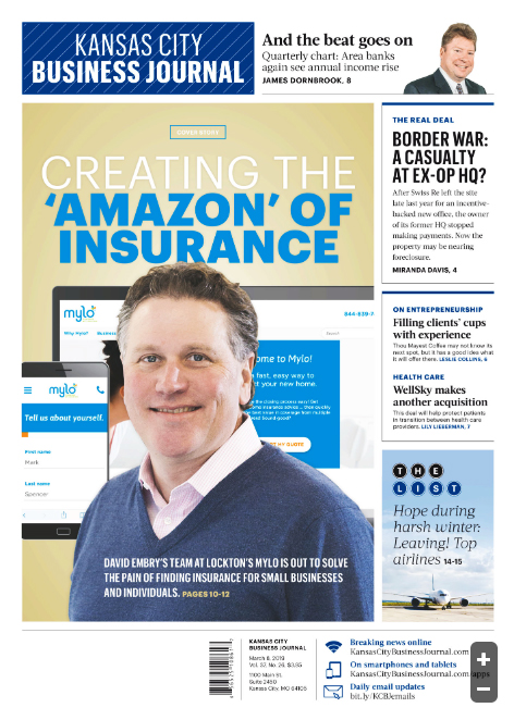 KC Business Journal Cover: David Embry