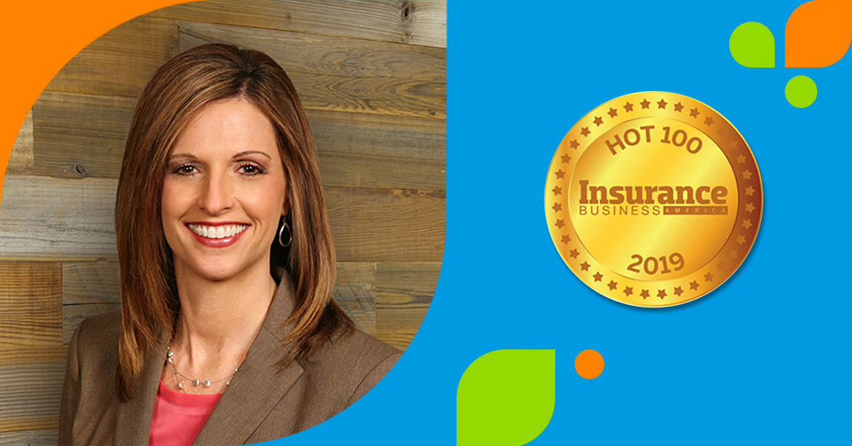 Monica Wilkens and IBA Hot 100 Award Logo
