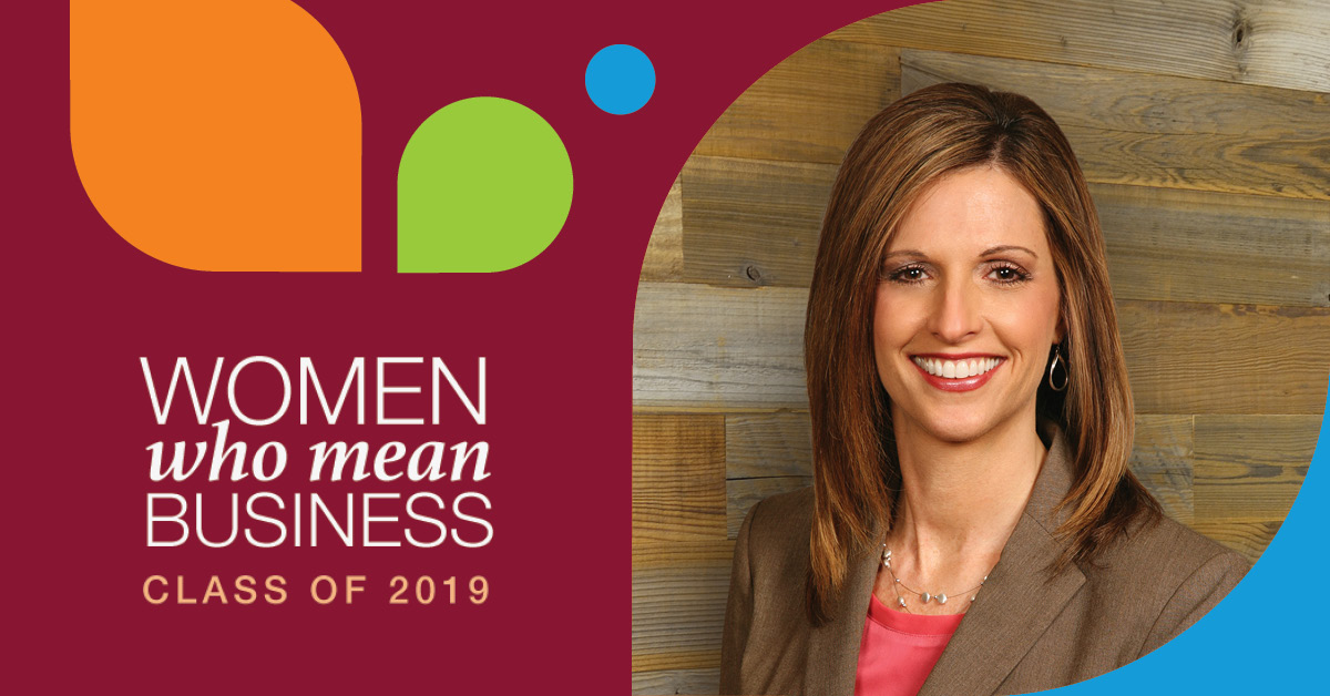 monica wilkens, kansas city business journal women who mean business award